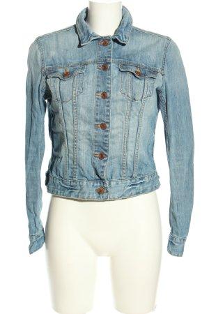 H&M L.O.G.G. Denim Jacket blue casual look