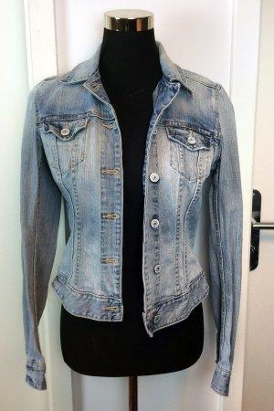 H&M L.O.G.G. Jeansjacke Denim Jacket blue-used wash, Sz 36 / S