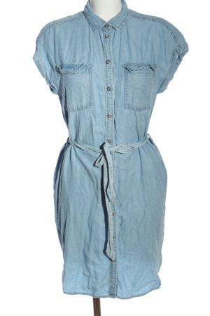 H&M L.O.G.G. Vestido vaquero azul look casual
