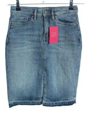 H&M L.O.G.G. Denim Skirt blue casual look