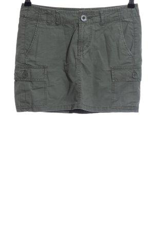 H&M L.O.G.G. Jeansrock khaki Casual-Look
