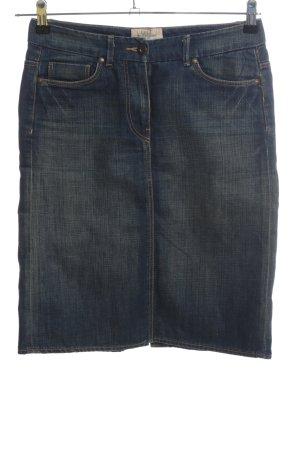 H&M L.O.G.G. Jeansrock blau Casual-Look