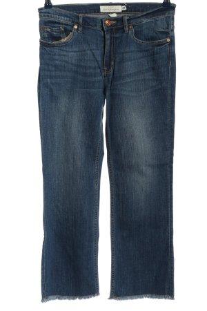 H&M L.O.G.G. Jeansschlaghose blau Casual-Look