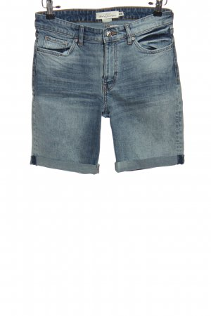 H&M L.O.G.G. Jeansshorts blau Casual-Look