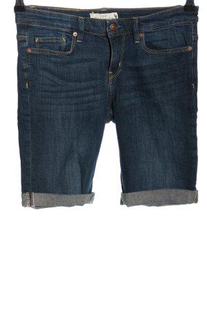 H&M L.O.G.G. Pantaloncino di jeans blu stile casual
