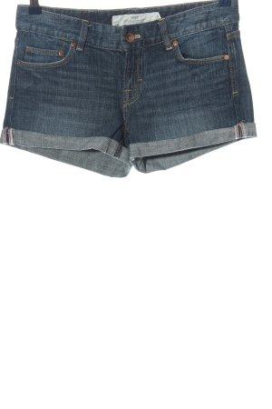 H&M L.O.G.G. Jeansshorts blau Casual-Look