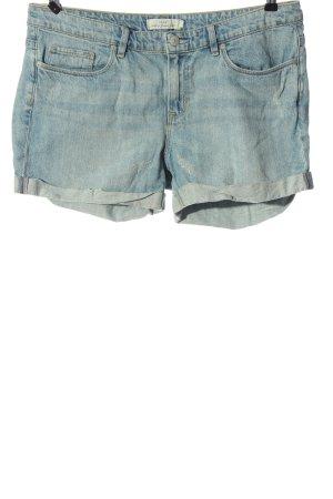 H&M L.O.G.G. Short en jean bleu style décontracté