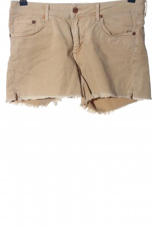 H&M L.O.G.G. Jeansshorts nude Casual-Look