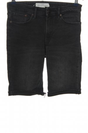 H&M L.O.G.G. Jeansshorts schwarz Casual-Look