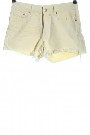 H&M L.O.G.G. Jeansshorts wollweiß Casual-Look