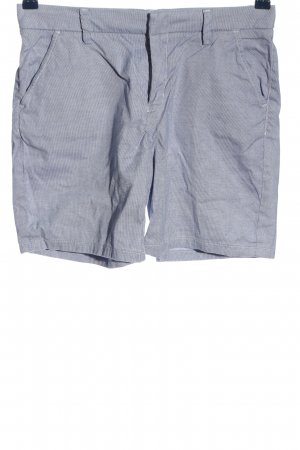 H&M L.O.G.G. Jeansshorts blau Webmuster Casual-Look