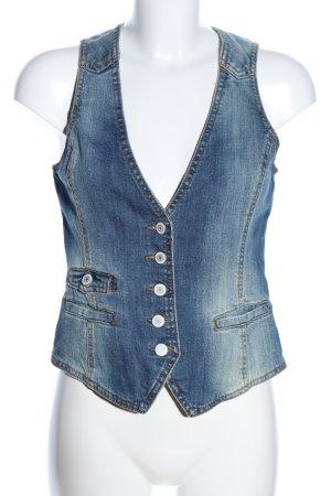 H&M L.O.G.G. Smanicato jeans blu stile casual