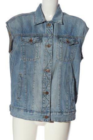 H&M L.O.G.G. Jeansweste blau Casual-Look