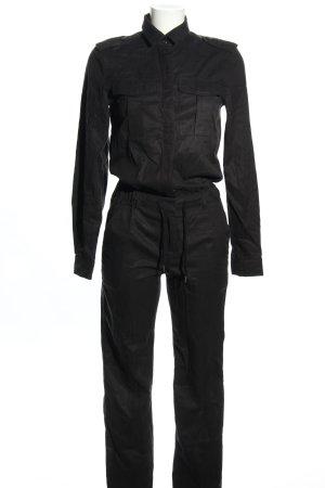 H&M L.O.G.G. Jumpsuit schwarz Casual-Look