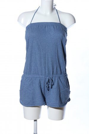H&M L.O.G.G. Jumpsuit blau meliert Casual-Look