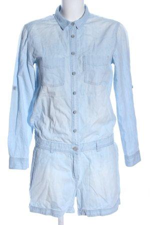 H&M L.O.G.G. Jumpsuit blau Casual-Look