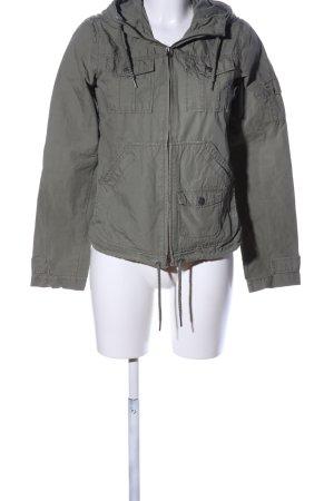 H&M L.O.G.G. Kurtka z kapturem khaki W stylu casual