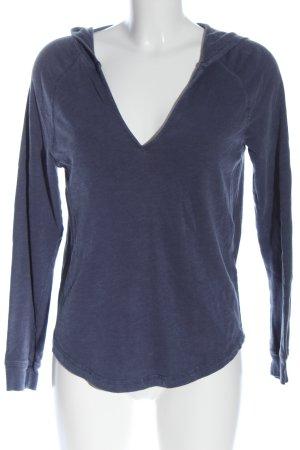 H&M L.O.G.G. Kapuzenshirt blau Casual-Look
