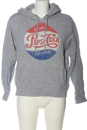 H&M L.O.G.G. Kapuzensweatshirt Schriftzug gedruckt Casual-Look