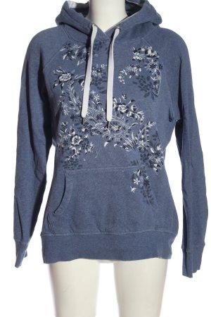 H&M L.O.G.G. Sudadera con capucha estampado floral look casual