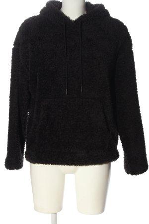 H&M L.O.G.G. Kapuzensweatshirt schwarz Casual-Look