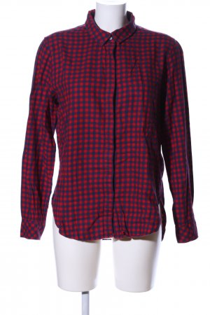H&M L.O.G.G. Karobluse rot-blau Karomuster Casual-Look
