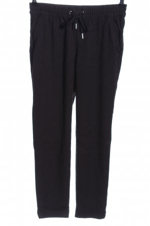 H&M L.O.G.G. Pantalone peg-top nero stile casual