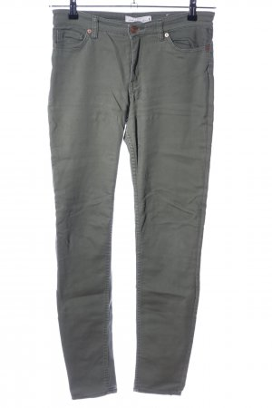 H&M L.O.G.G. Spodnie khaki khaki W stylu casual