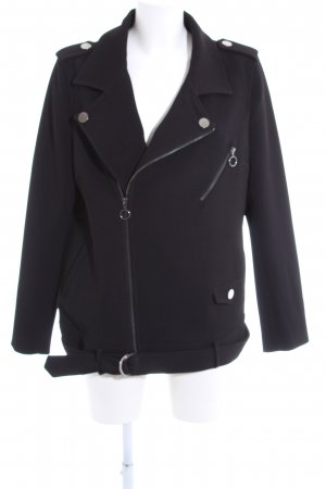 H&M L.O.G.G. Kurz-Blazer schwarz Casual-Look