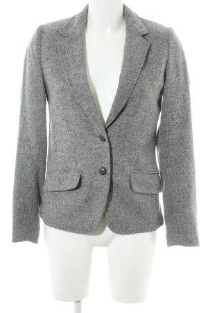 H&M L.O.G.G. Kurz-Blazer grau-dunkelgrau schlichter Stil