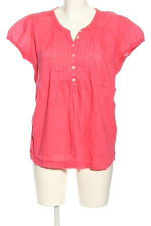 H&M L.O.G.G. Kurzarm-Bluse pink Casual-Look