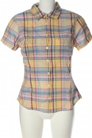 H&M L.O.G.G. Camisa de manga corta estampado a cuadros look casual