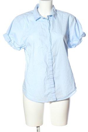 H&M L.O.G.G. Kurzarmhemd blau Casual-Look