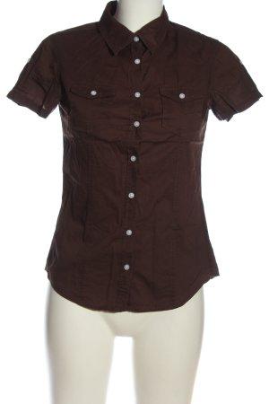 H&M L.O.G.G. Camisa de manga corta marrón look casual