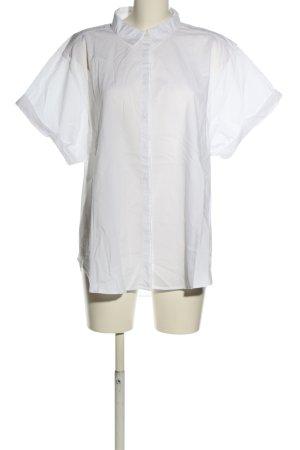 H&M L.O.G.G. Camicia a maniche corte bianco stile professionale