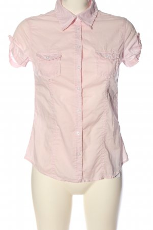 H&M L.O.G.G. Short Sleeve Shirt pink business style