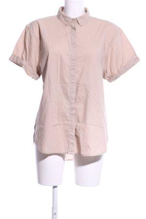 H&M L.O.G.G. Shirt met korte mouwen room zakelijke stijl