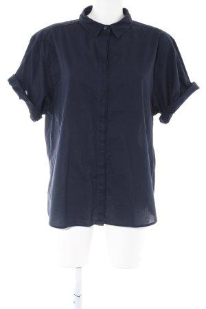 H&M L.O.G.G. Shirt met korte mouwen blauw casual uitstraling