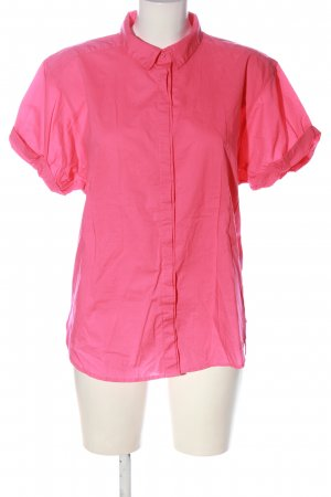H&M L.O.G.G. Kurzarmhemd pink Casual-Look