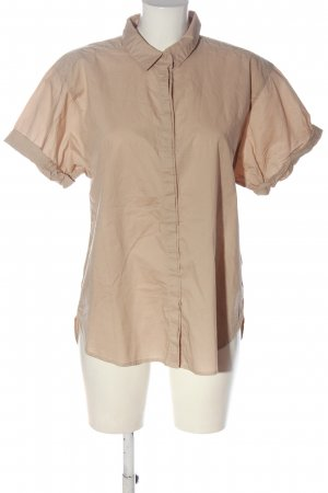 H&M L.O.G.G. Kurzarmhemd nude Casual-Look