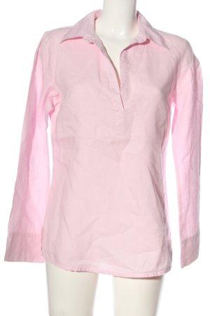 H&M L.O.G.G. Langarm-Bluse pink Elegant