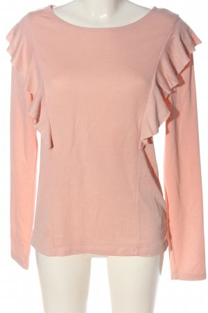 H&M L.O.G.G. Langarm-Bluse nude Casual-Look