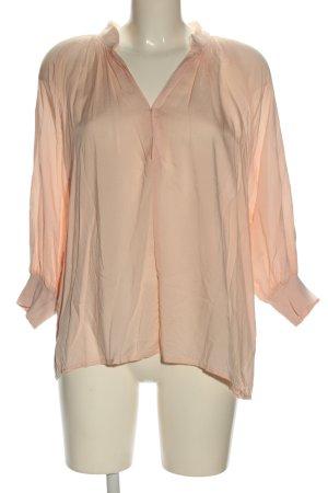 H&M L.O.G.G. Langarm-Bluse creme Business-Look