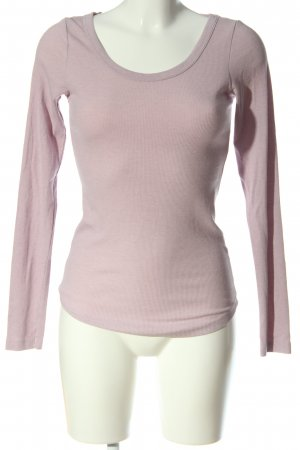 H&M L.O.G.G. Langarm-Bluse pink Casual-Look