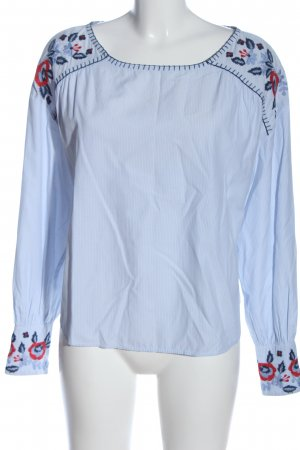 H&M L.O.G.G. Langarm-Bluse Allover-Druck Casual-Look
