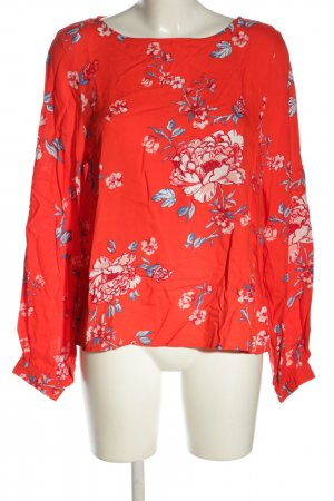 H&M L.O.G.G. Langarm-Bluse Blumenmuster Casual-Look