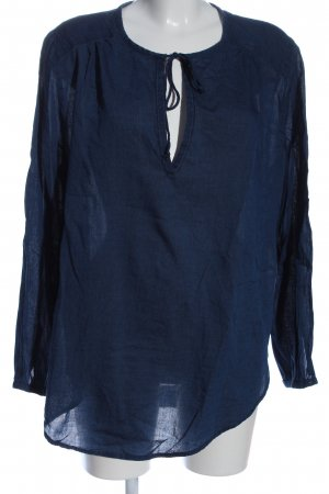 H&M L.O.G.G. Langarm-Bluse blau Casual-Look