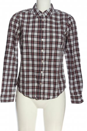 H&M L.O.G.G. Langarmhemd Allover-Druck Casual-Look