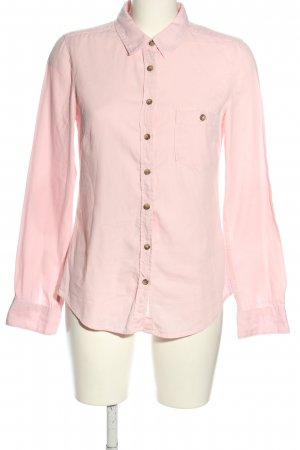 H&M L.O.G.G. Langarmhemd pink Business-Look