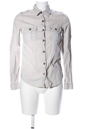 H&M L.O.G.G. Long Sleeve Shirt light grey casual look